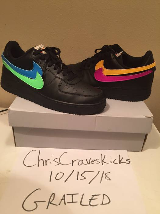af71ff72c8373a Nike Air Force 1 Swoosh Pack All-Star 2018 Black Size 10 - Low-Top ...