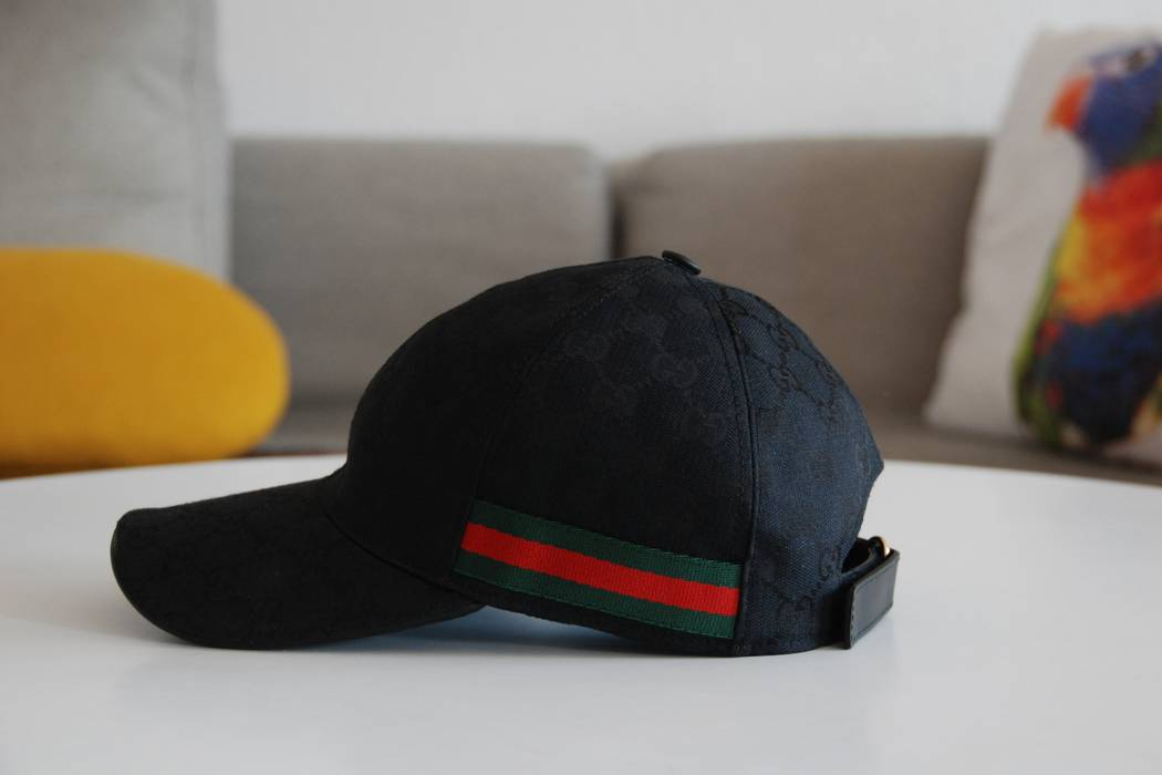 Gucci Gucci Canvas Hat + like new + Receipt Size one size - Hats for ... e3e77b895ea