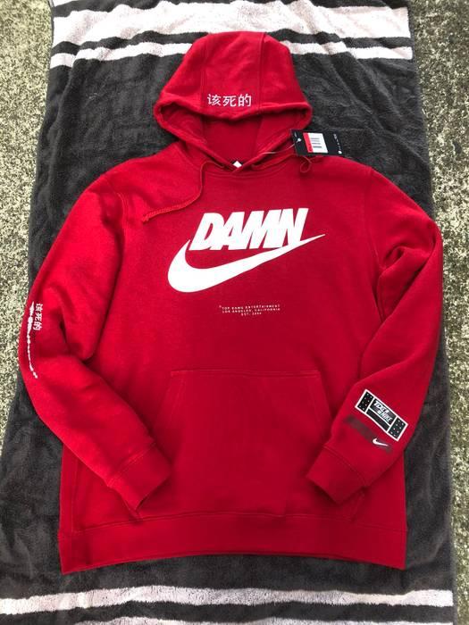 88d2851397388 Nike TDE Kendrick Lamar Damn Hoodie Size l - Long Sleeve T-Shirts ...