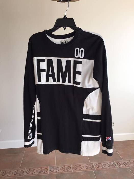 Hall Of Fame Hall of Fame Hockey Jersey Size s - Long Sleeve T ... 95203292492