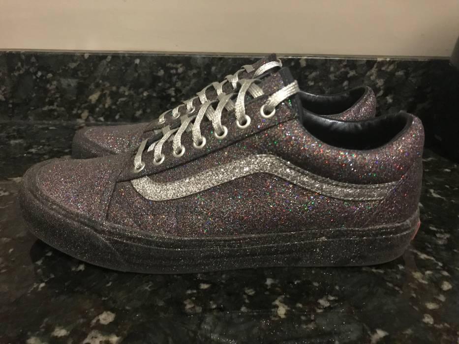 2fb7f5454f7f Vans Vans OG Old Skool LX Opening Ceremony Black Glitter Sneakers Sz ...