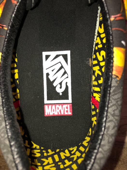 e676007607e Vans Marvel Comics Wolverine Vans Size 8.5 - Low-Top Sneakers for ...