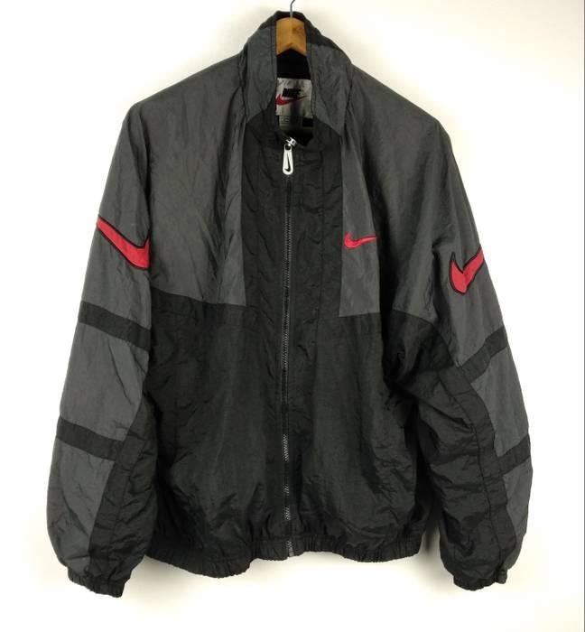 034344c95a2b Nike Vintage 1990s Nike Swoosh Foot locker Windbreaker Multicolor Jacket  Medium Size US M   EU