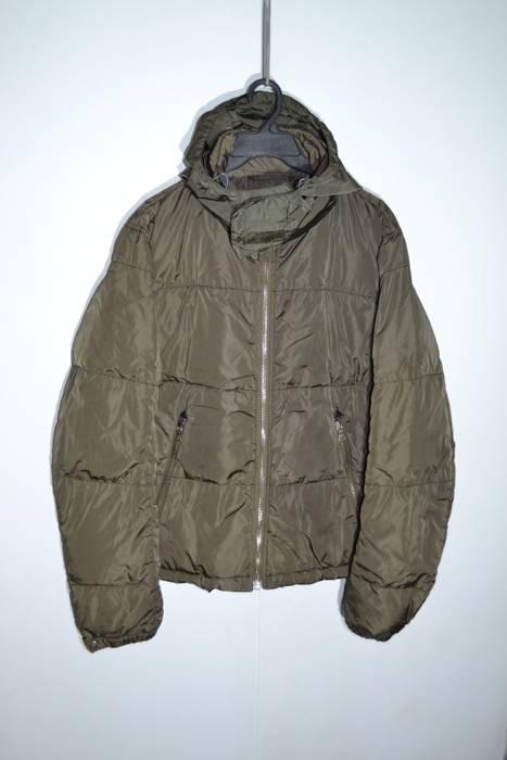 Prada Prada 52 size L Bottle Green Down Jacket Sport Line Italy Size ... 4630b0acda