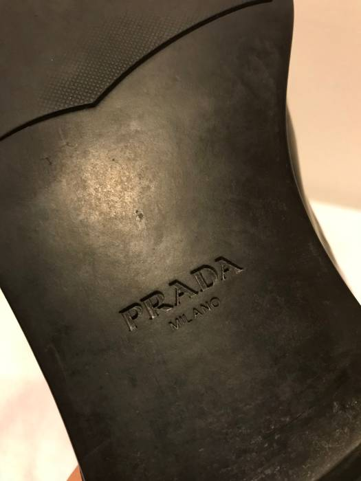 dbd0fcbcd98 Prada Black Dress Shoes Size 9 - Formal Shoes for Sale - Grailed