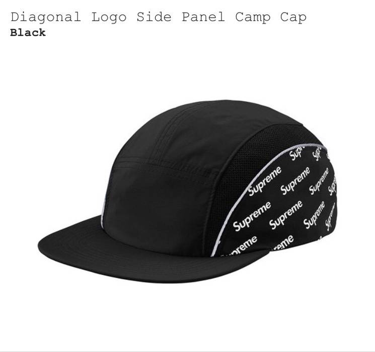 40db4736290 Supreme Diagonal Logo Side Panel Camp Camp Black Size one size ...