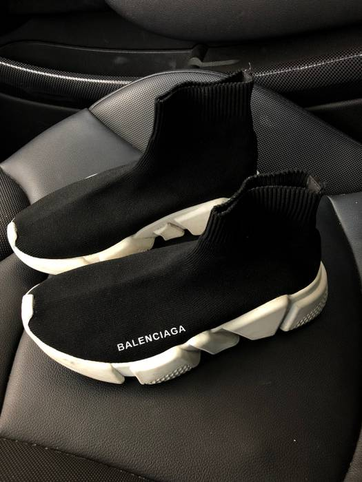 cfebfc6f8d27 Balenciaga Speed Trainers Size 6 - Hi-Top Sneakers for Sale - Grailed