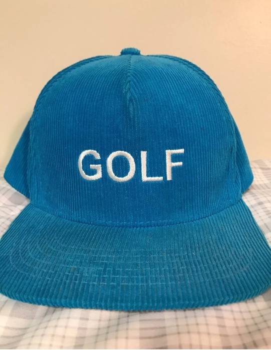 ba3cd9954fc Golf Wang Rare Golf Wang Corduroy Hat Size one size - Hats for Sale ...