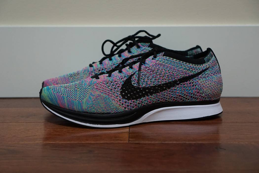 0ea25b8685b4 Nike Flyknit Racer Multicolour Size 9.5 - Low-Top Sneakers for Sale ...