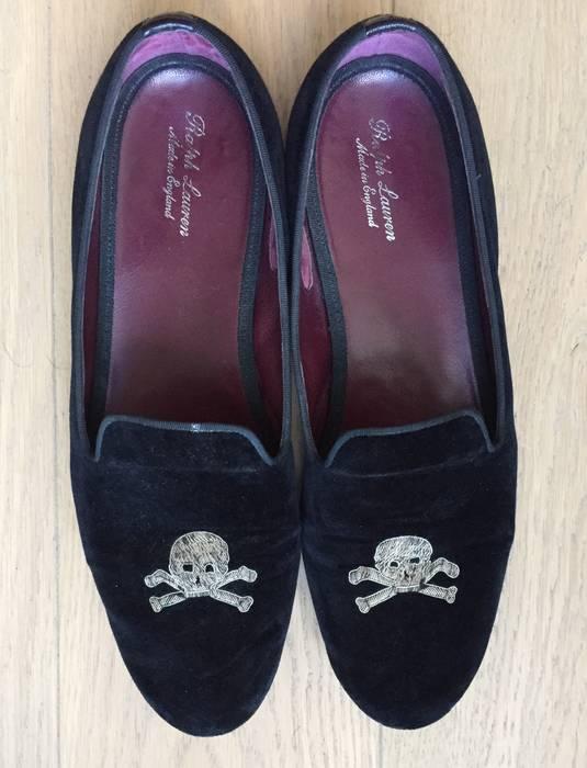 33c710a7cf0c Ralph Lauren Purple Label. RARE Ralph Lauren Purple Label Edward Green Black  Velvet Collis Slippers ...