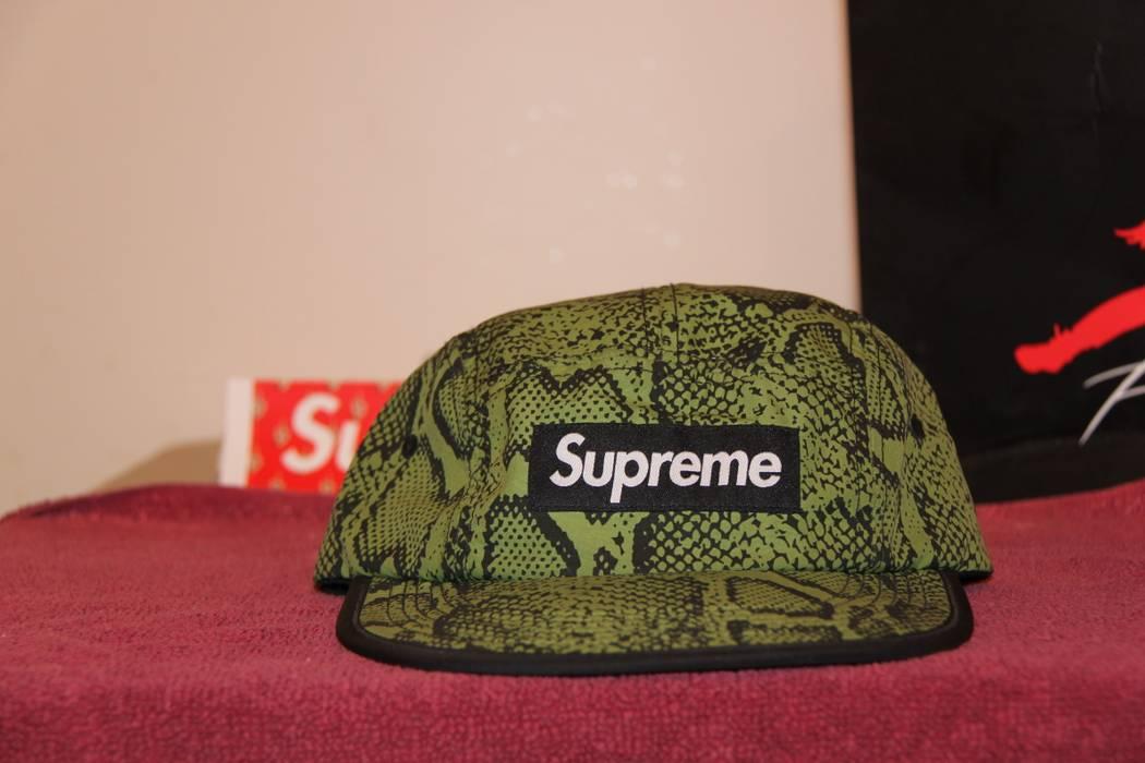 6ef5f77a8b8ba Supreme Snakeskin Soft Brim Camp Cap Size one size - Hats for Sale ...