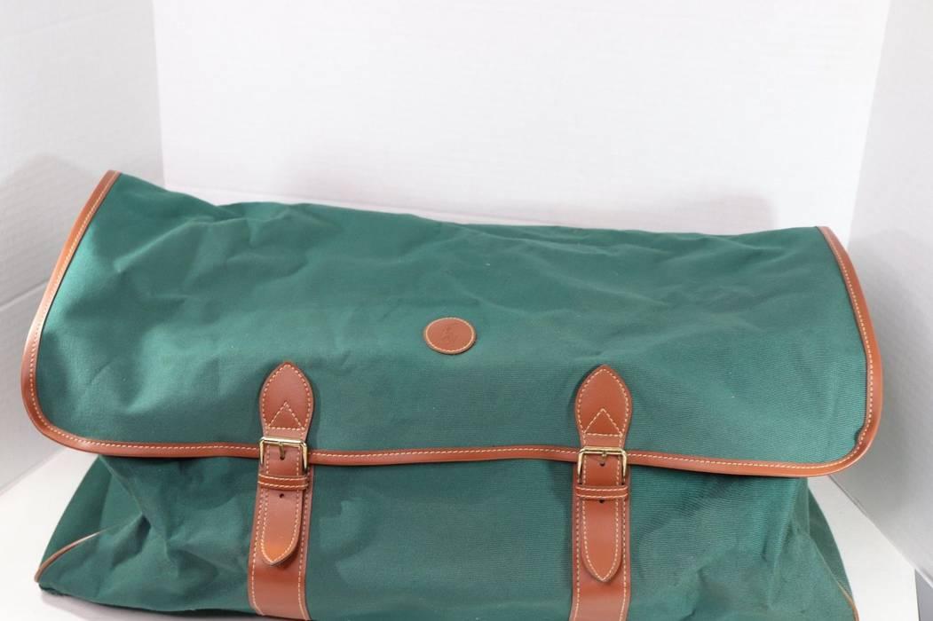 Polo Ralph Lauren. Vintage 90s Polo Ralph Lauren Weekender Shoulder Strap  Duffel Bag Green. Size  ONE SIZE d6d7280f41
