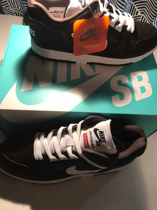 ddba937125f0f Supreme Supreme SB Air Force 2 Size 9 - Low-Top Sneakers for Sale ...