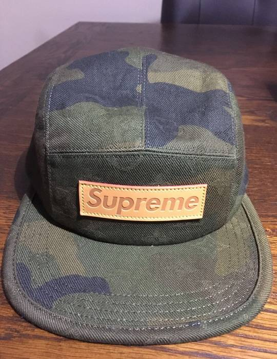 Louis Vuitton Supreme X Louis Vuitton Camp Cap Size one size - Hats ... 40561ee2c632