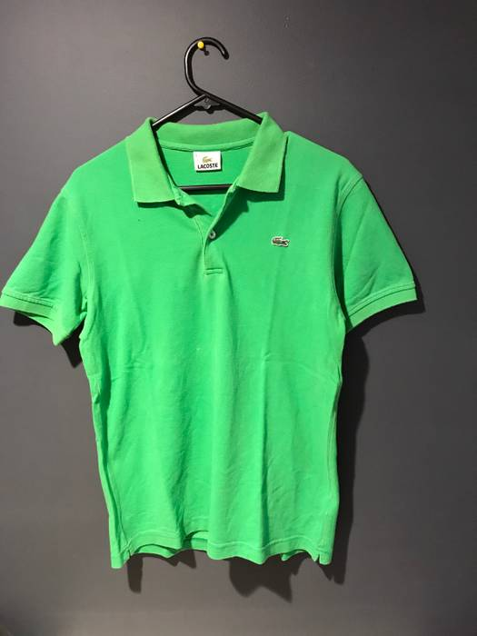 216ce1163 Lacoste Vintage Lacoste Polo Green Size xs - Polos for Sale - Grailed