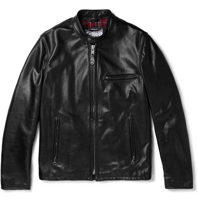 ca9e4a948f9 Schott Perfecto Leather Racer Jacket Size m - Leather Jackets for ...