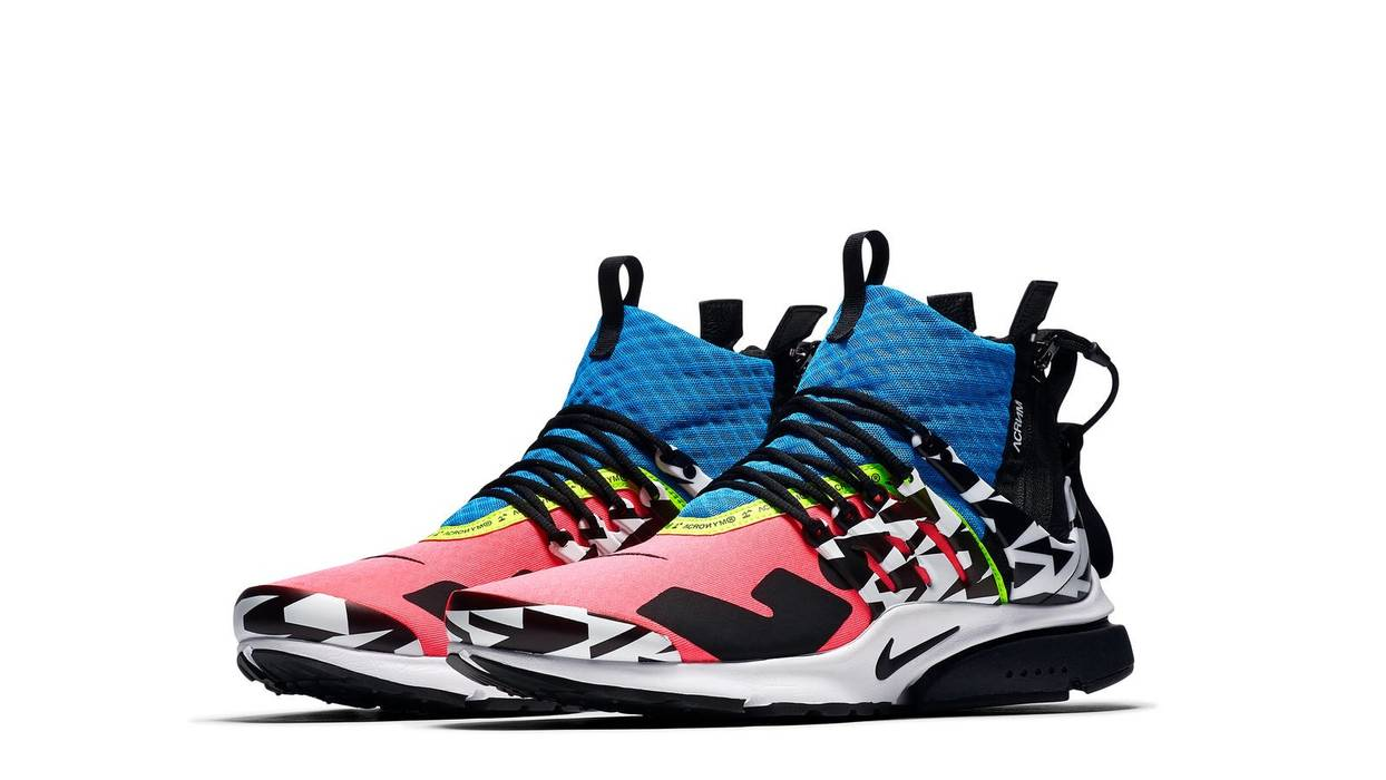 new arrival 9e504 00229 Nike Acronym x Nike Air Presto Mid Racer Pink  Photo Blue DS NEW Size US