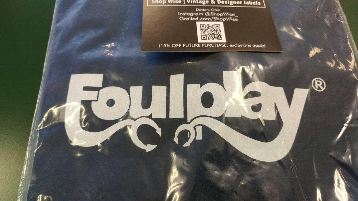 Foulplay Company Foulplay Logo T Shirt Navy Size M Short Sleeve T