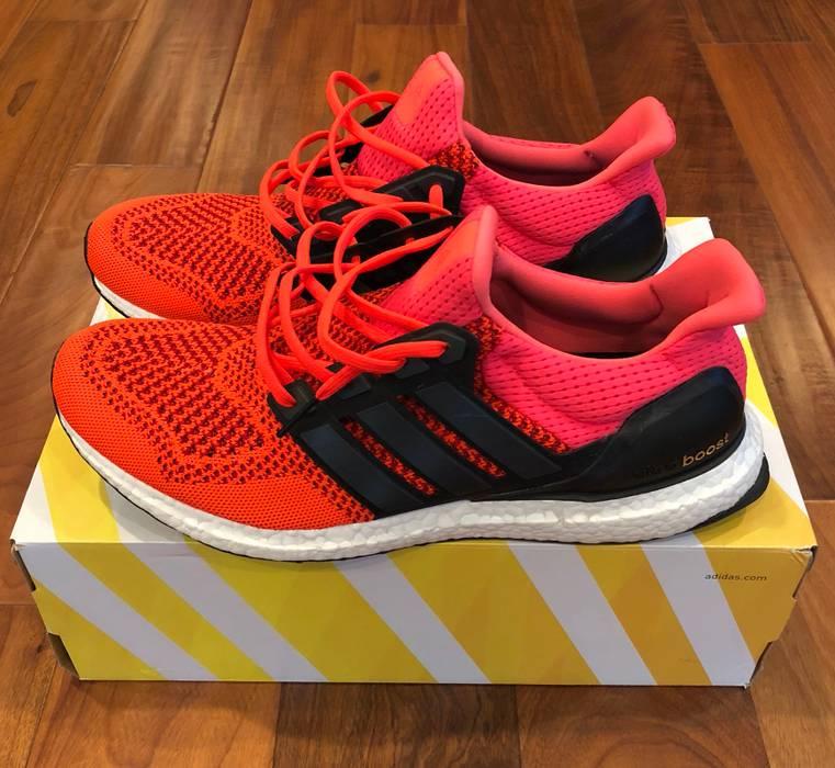 81ca45901 Adidas Adidas Ultra Boost 1.0 Solar Red 2015 B34050 Size 11.5 - Low ...