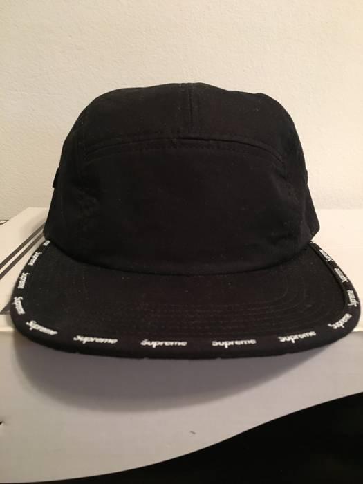 c785fd5a0c8 Supreme  SUPREME Visor Logo Tape Camp Cap Size one size - Hats for ...