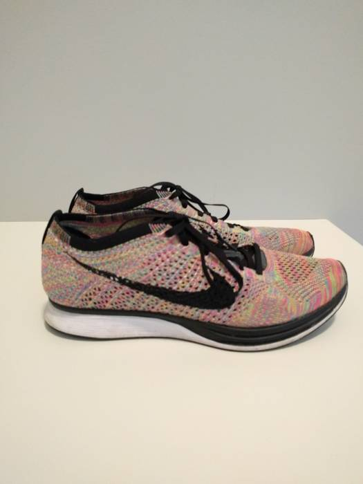 2134ae76fba9 Nike Flyknit Racers Multicolor 3.0 Size 9.5 - Low-Top Sneakers for ...