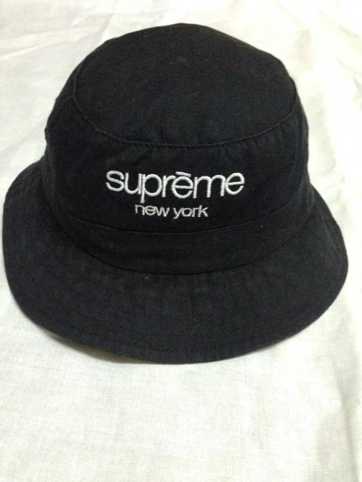 Supreme Supreme New York Bucket Hat Size one size - Hats for Sale ... 6ba5e3276f5
