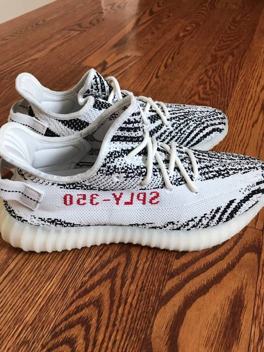 bcb07c834 Adidas Kanye West Yeezy Boost 350 V2  Zebra  Size 9 - Low-Top ...