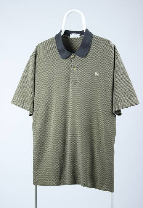 Vintage Vintage Mena BURBERRYS Polo Shirt Short Sleeve Size US XL   EU 56    4 e5564ee4ee28