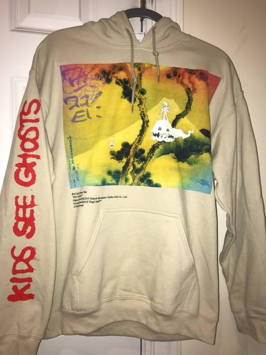 Off White Kids See Ghosts Hoodie V2 Size M Sweatshirts Hoodies