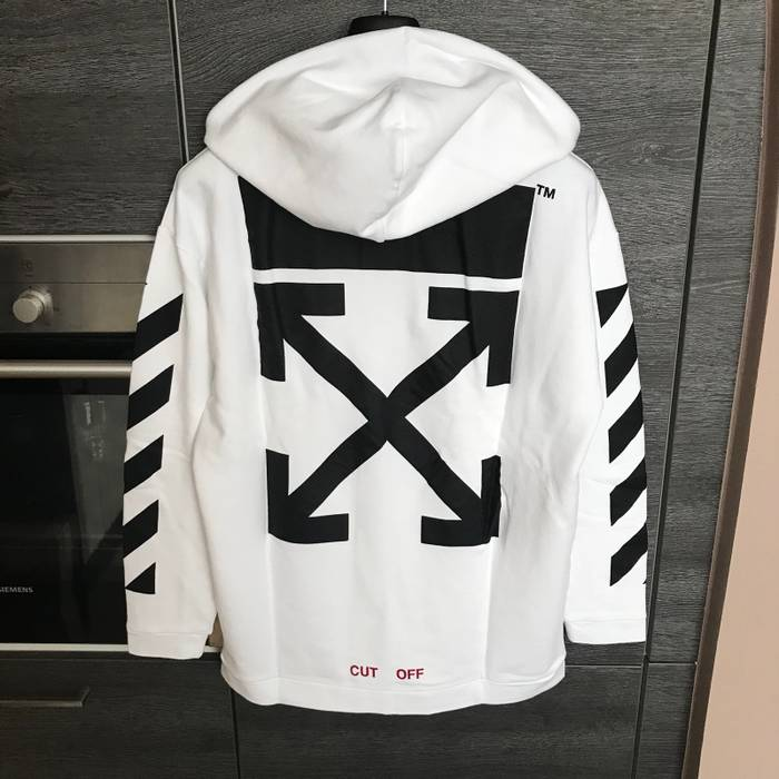 567c00ee0d2f Off-White Authentic Off-White Caravaggio Annunciation Hoodie L Oversized  Measurements Inside Size US