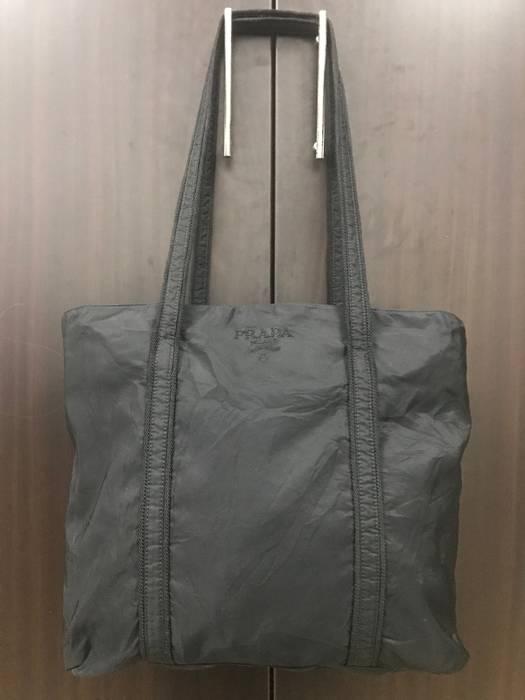 d18a274049fb Prada Authentic Prada Totebag Nylon Black Bag Size one size - Bags ...