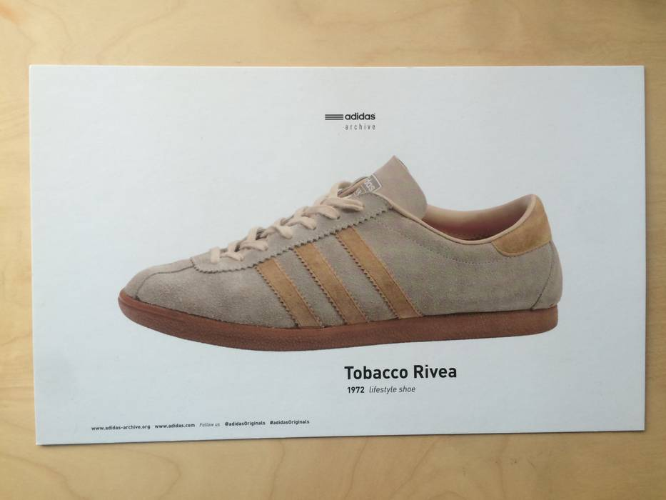 caa48a7a1dd7 Adidas Adidas Tobacco Rivea (Pale Nude   Cardboard) Size 8 - Low-Top ...