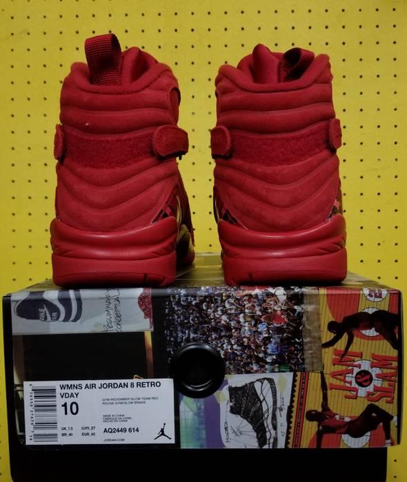 1744e591e575 Nike BRAND NEW Women s Air Jordan 8 VIII Retro Sz 10.0 Valentine s Day Gym Red  AQ2449