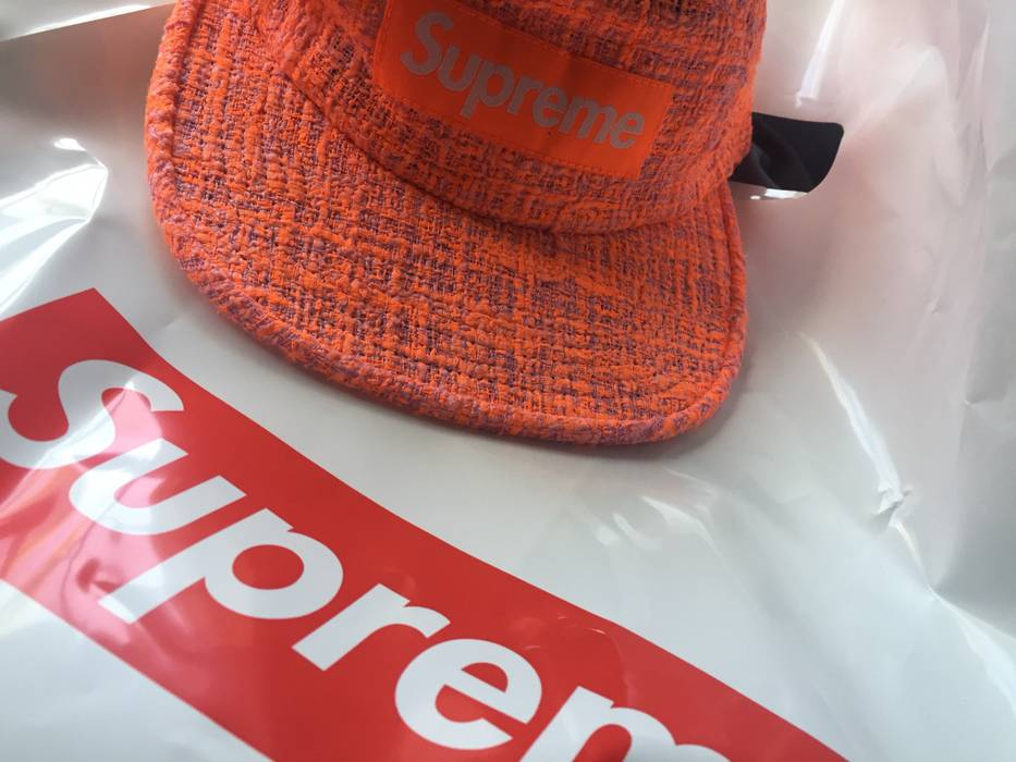 b5571806ec1 Supreme Supreme Bouclé Camp Cap (Coral) Size one size - Hats for ...