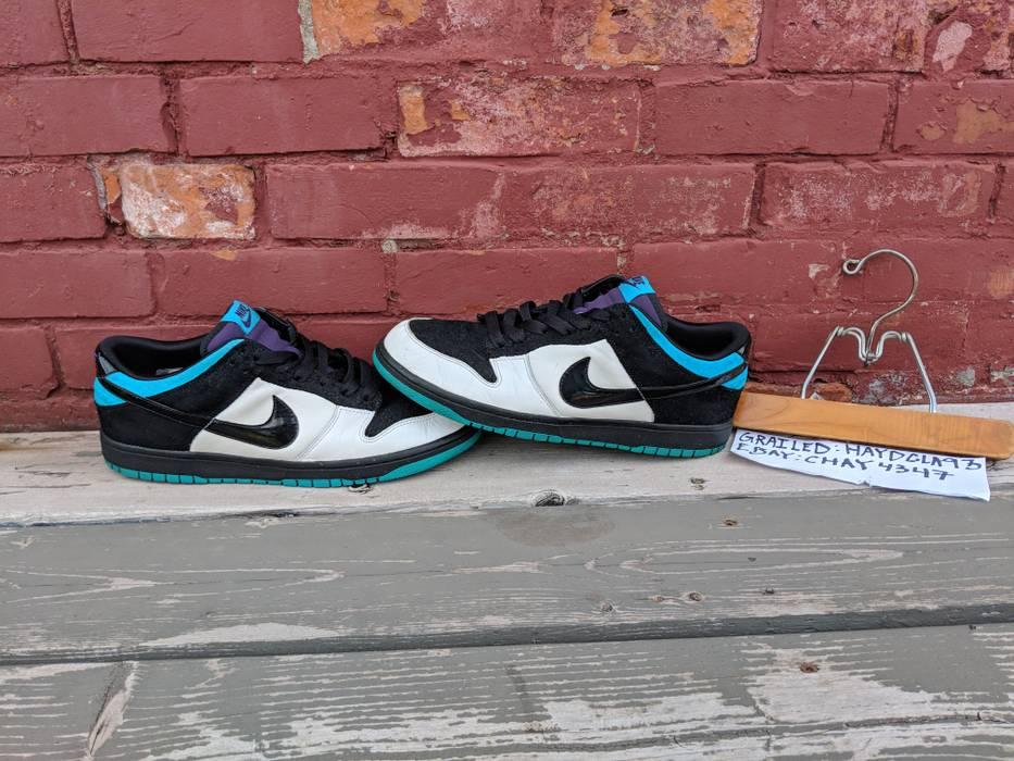 on sale 44f77 4f51f Nike. Nike NYX Dunk Low Black White Aquamarine ...
