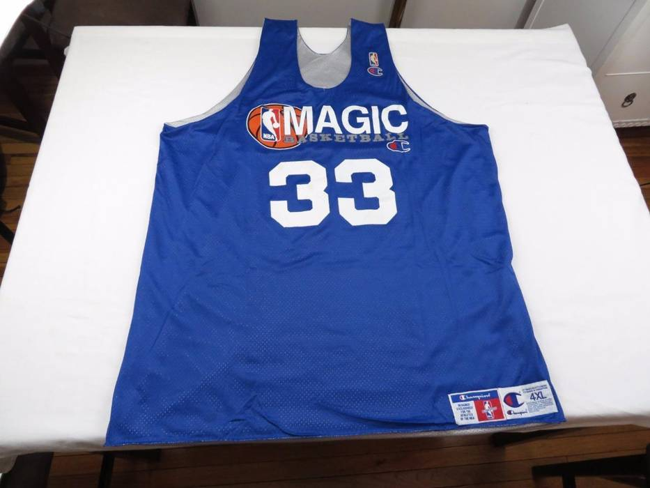 Vintage Vtg Champion Authentic Mens Terry Catledge Orlando Magic NBA  Practice Jersey 4XL Size US XXL 95f17a147