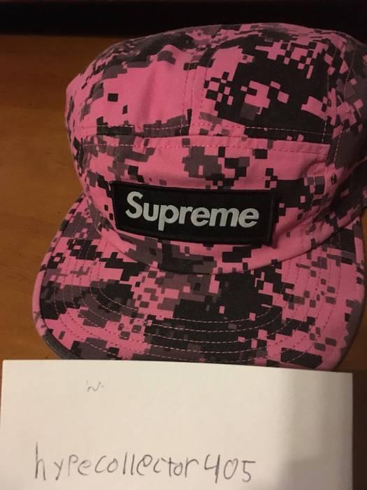 ca1021f88bb Supreme Supreme NYCO Twill Camp Cap Pink Digi Camo Size one size ...
