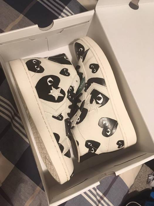 fd0be5cecabc90 Converse CDG PRO LEATHER DS SIZE 10 Size 10 - Hi-Top Sneakers for ...