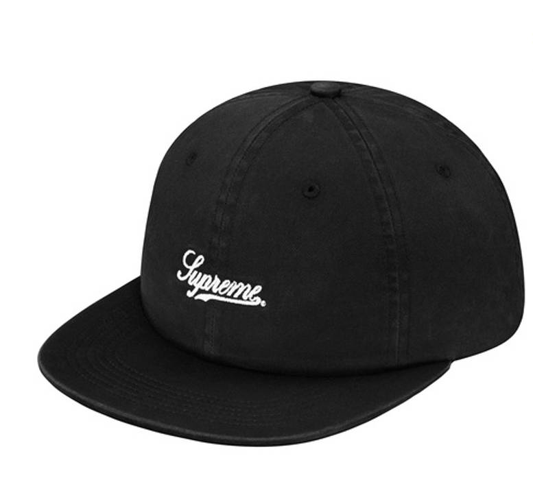 ef1a13fe11c Supreme Script Logo Fitted 6-Panel Size one size - Hats for Sale ...