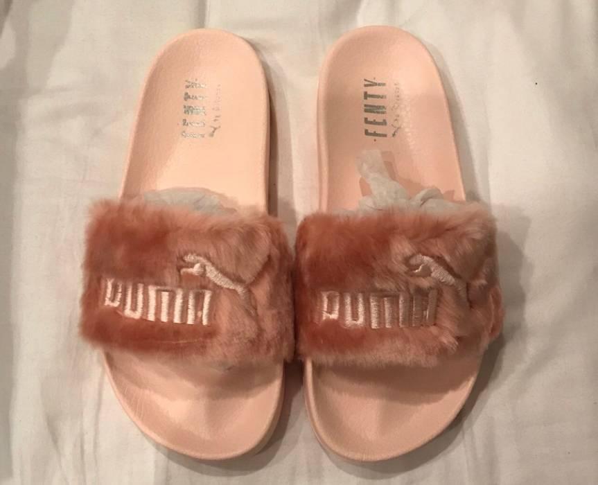 Fur Slide By Fenty Womens Sandals Leadcat Fenty Puma Fur Pink Slides ... 21c532aa72