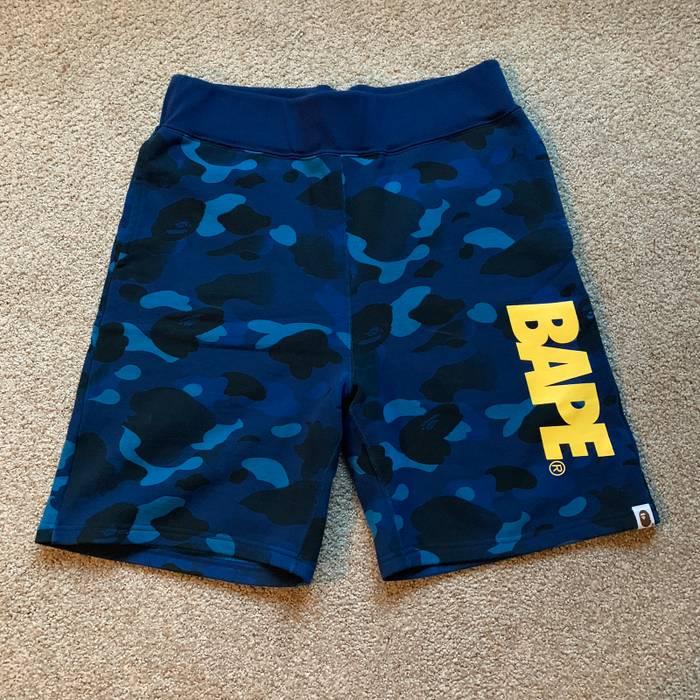 Bape Blue Camo Shorts Size 32 - Shorts for Sale - Grailed 337ed0bdf2ac