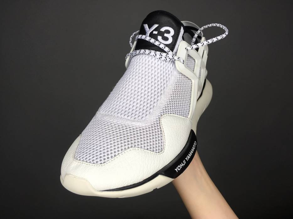 Adidas Y-3 Qasa Racer Low White Size 8 - Low-Top Sneakers for Sale ... fd0127e9f