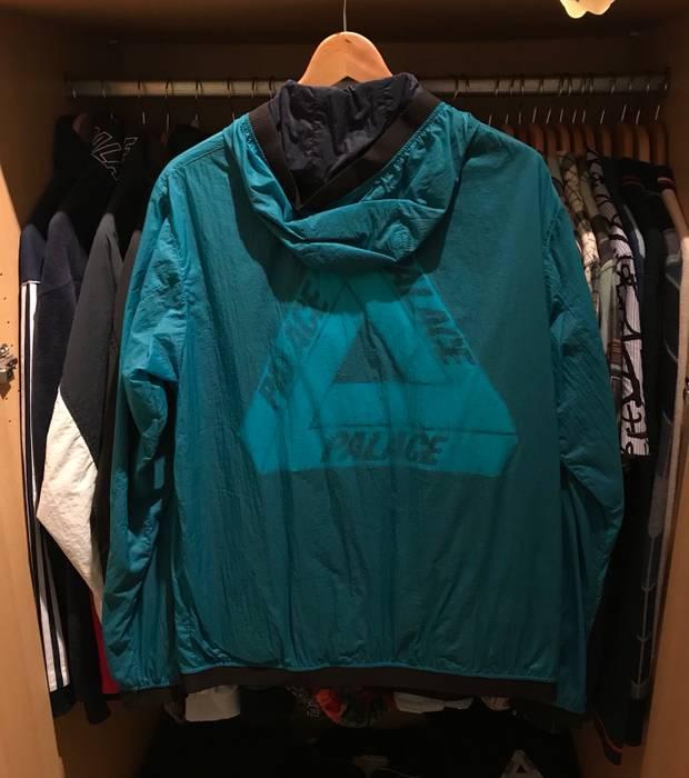 42187435f302 Palace Palace Tri-Ferg Layer Jacket Blue Track Windbreaker Green Cyan Teal Tri  Ferg Size