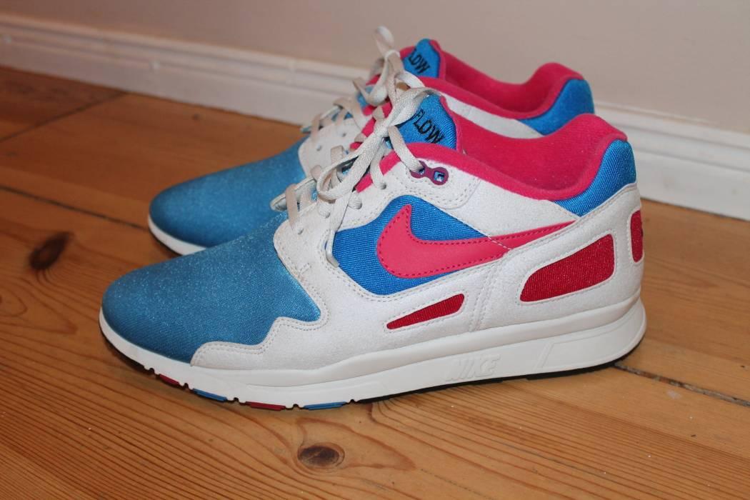 Nike NIKE Air Flow (Photo Blue   Voltage Cherry) size 9 e039055569