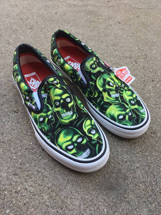 6b6f046c0ac0 Supreme Slip-on pro (skull pile) Size 8.5 - Low-Top Sneakers for ...