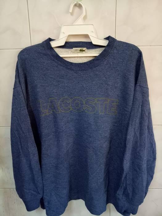 00e28cb11 Lacoste. LACOSTE sweatshirt big logo spell out streetwear sweater. Size: US  XL / EU 56 / 4