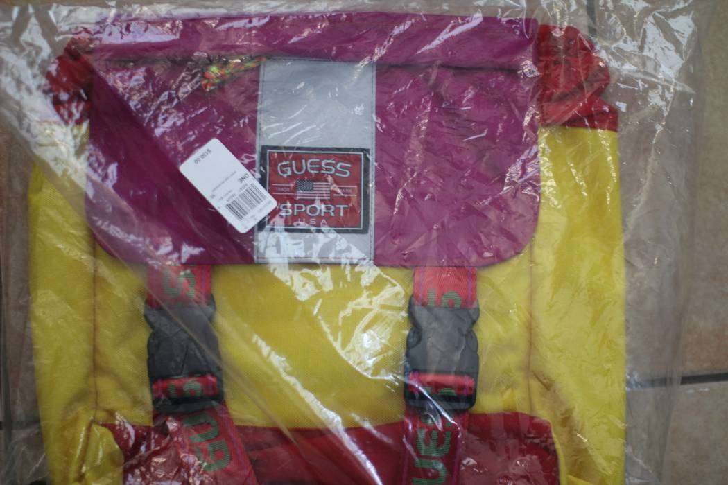 Guess Sean Wotherspoon x GUESS JEANS U.S.A Farmers Market Backpack  Pineapple Multi QS Size ONE SIZE a5df1d2534b21
