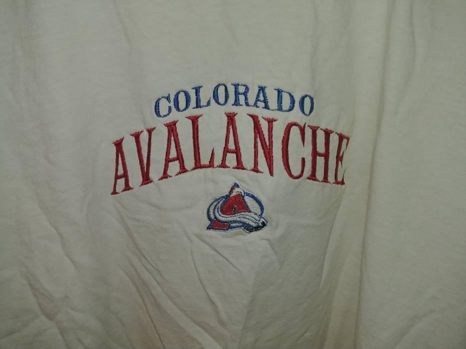 Nhl Vintage 90 s NHL Colorado Avalanche Lee Sport T-Shirt Size US L   EU 014667781