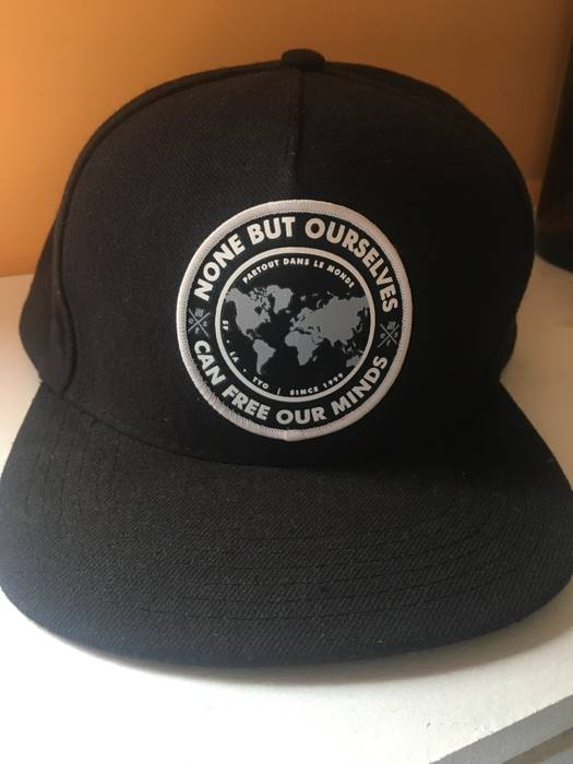 Illest Illest None But Ourselves Can Free Our Minds Snapback  Black ... 55151a3b510