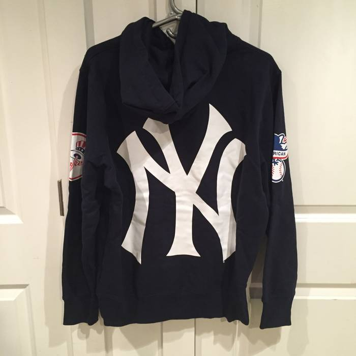release date 5925a bfd34 new york yankee hoodies